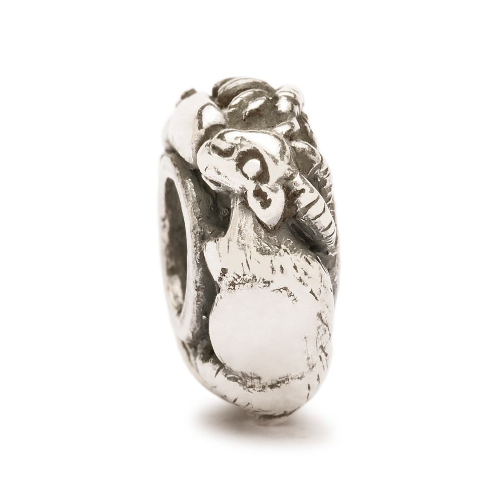Trollbeads Chinese Goat Sterling Silver Bead TAGBE-40077